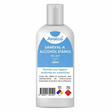 Alcohol Gel Saneval-A 60 ml