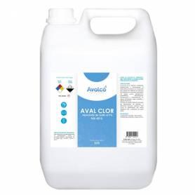 Hipoclorito De Sodio Al 5% Aval Clor 5 Lts