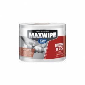 Paño Maxwipe X70 Elite Jumbo 870 Paños